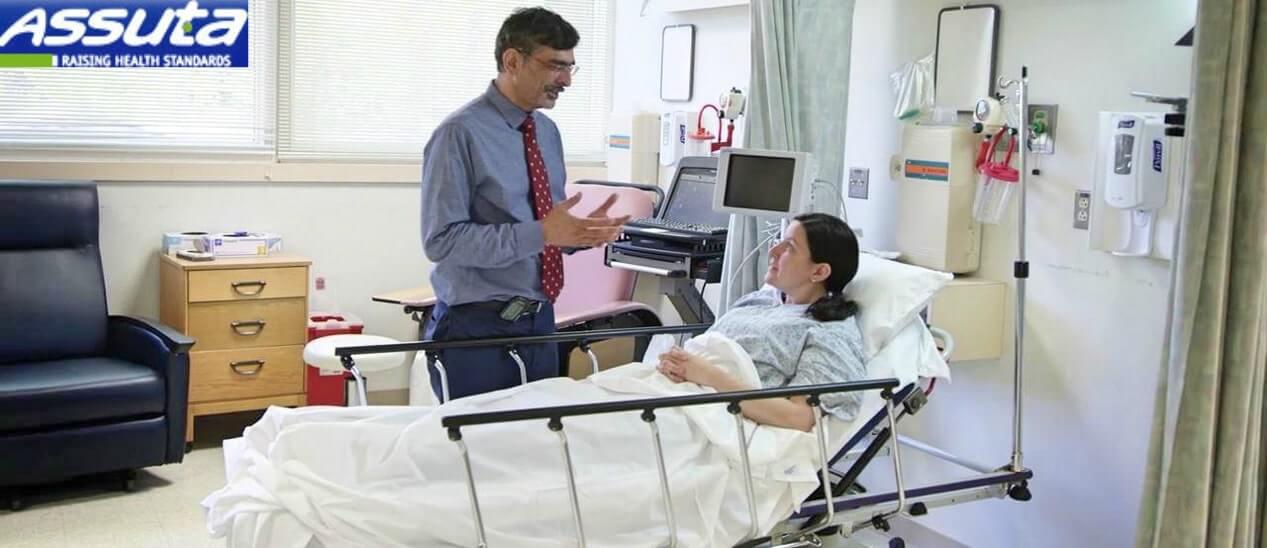 пациентка с трижды негативным раком груди в Ассута-min