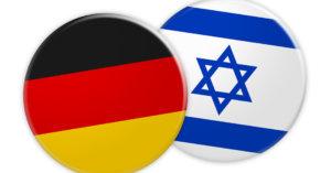 флаги Германии и Израиля