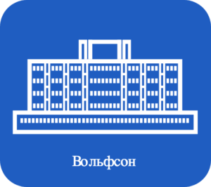 логотип Вольфсон