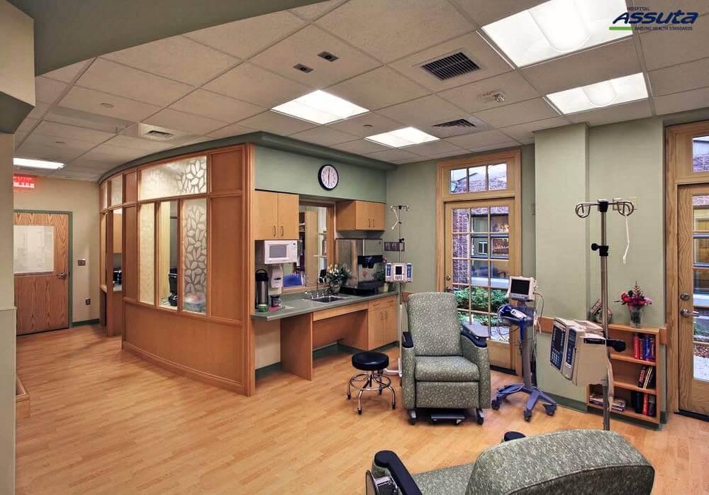 отделение химиотерапии в клинике Ассута