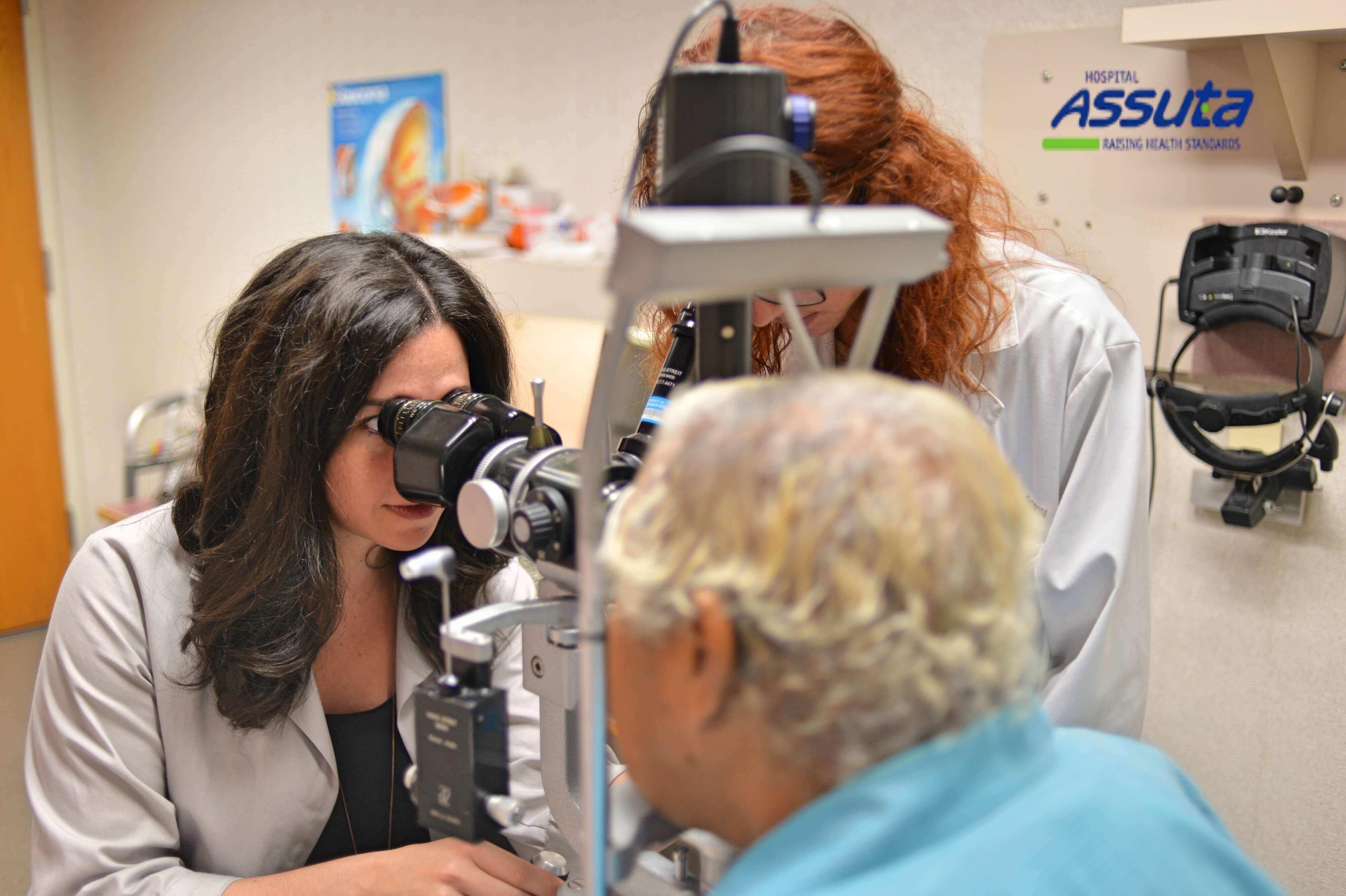 диагностика меланомы глаза в Израиле