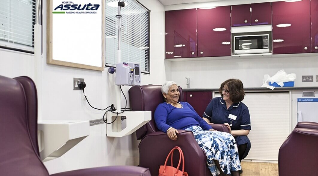 отделение химиотерапии при раке костей в клинике Ассута
