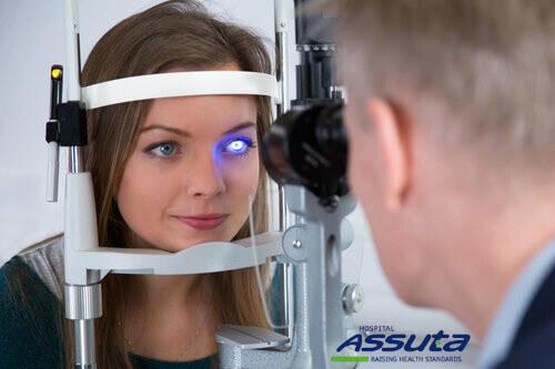 лечение глаукомы лазером в Израиле
