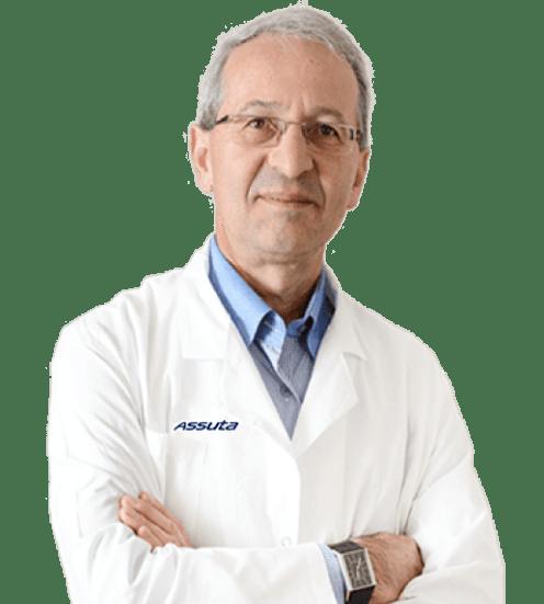 Профессор <b>Б.Гендель</b> <br> зав.отделением таракальной хирургии